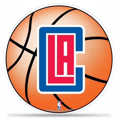 Clippers Basketball Die Cut Pennant