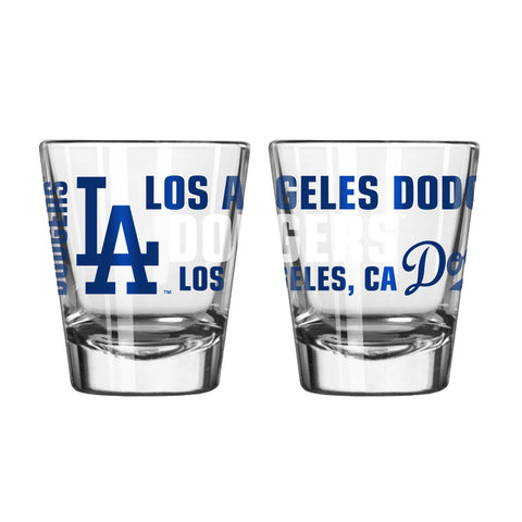 Los Angeles Dodgers 2Oz Spirit Shot Glasses