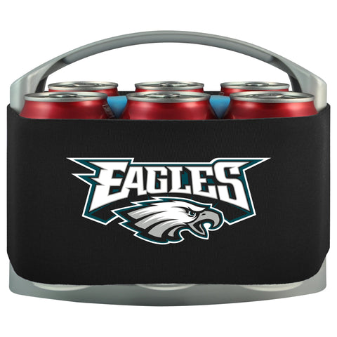 Philadelphia Eagles Cooler With Neoprene Sleeve And Freezer Component