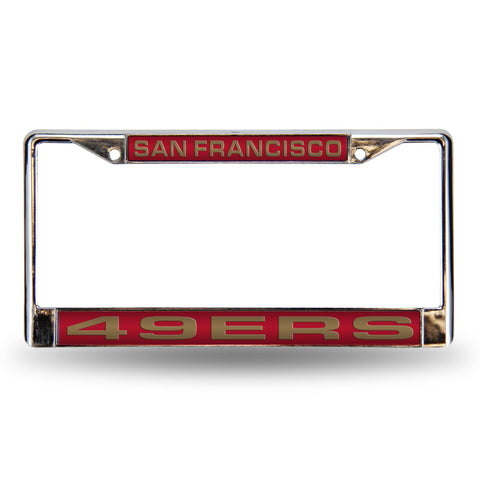 49Er'S Red Laser Chrome Frame
