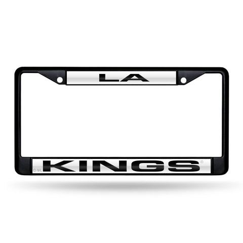 Los Angeles Kings Black Laser Chrome Frame