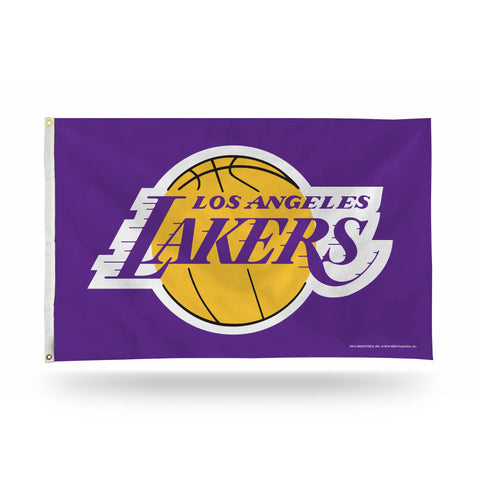 Los Angeles Lakers Banner Flag Purple