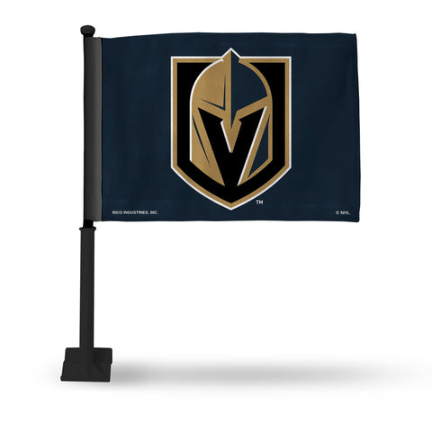 Las Vegas Golden Knights Black Pole Car Flag