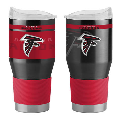 Atlanta Falcons 24Oz Ultra Twist Tumblers - 18/8 Steel Vacuum Insulated With High Lip Slider Lid