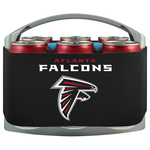 Atlanta Falcons Cooler With Neoprene Sleeve And Freezer Component