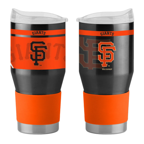 San Francisco Giants 24Oz Ultra Twist Tumblers - 18/8 Steel Vacuum Insulated With High Lip Slider Lid