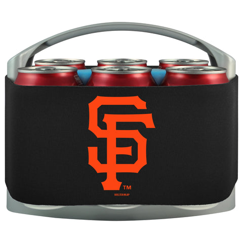 San Francisco Giants Cooler With Neoprene Sleeve And Freezer Component