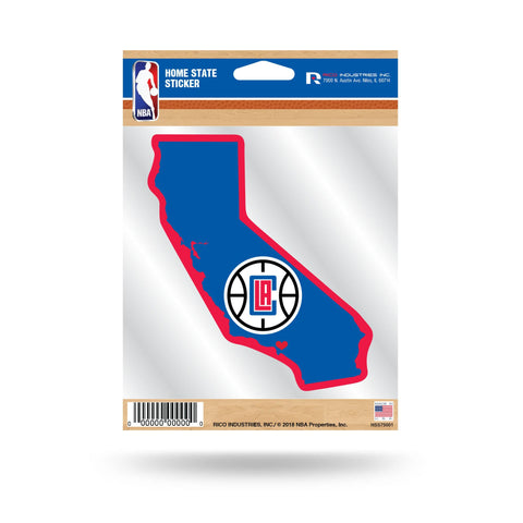 Clippers Home State Sticker