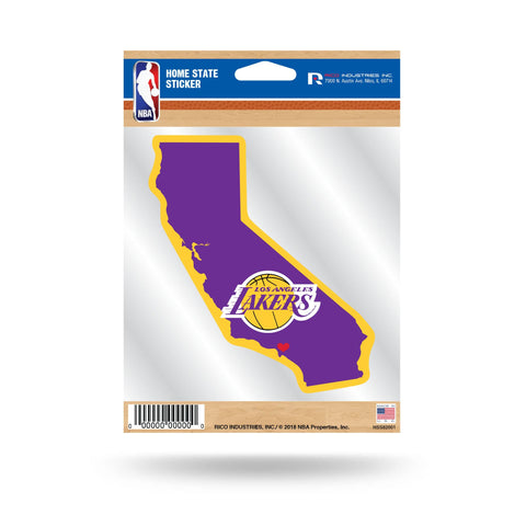 Lakers Home State Sticker