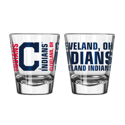 Cleveland Indians 2Oz Spirit Shot Glasses