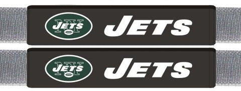 New York Jets Leather Seat Belt Pads