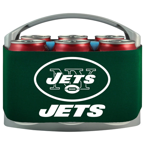 New York Jets Cooler With Neoprene Sleeve And Freezer Component