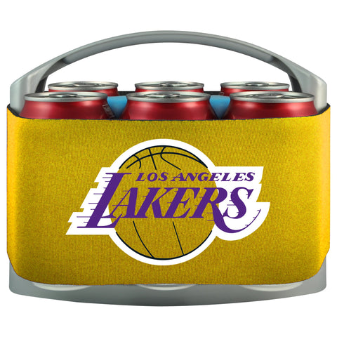 Los Angeles Lakers Cooler With Neoprene Sleeve And Freezer Component