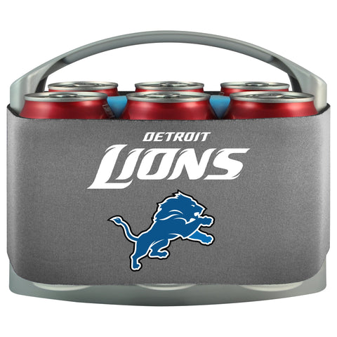 Detroit Lions Cooler With Neoprene Sleeve And Freezer Component