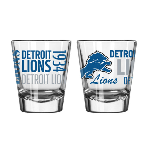Detroit Lions 2Oz Spirit Shot Glasses
