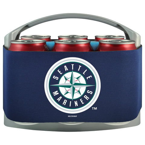 Seattle Mariners Cooler With Neoprene Sleeve And Freezer Component