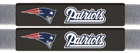 New England Patriots Leather Seat Belt Pads