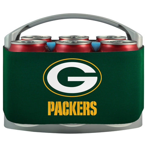 Green Bay Packers Cooler With Neoprene Sleeve And Freezer Component