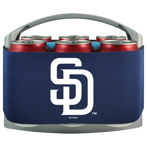San Diego Padres Cooler With Neoprene Sleeve And Freezer Component