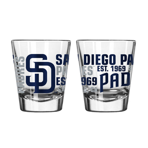 San Diego Padres 2Oz Spirit Shot Glasses