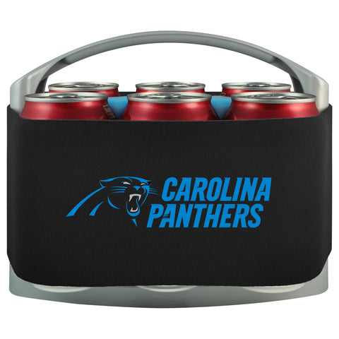 Carolina Panthers Cooler With Neoprene Sleeve And Freezer Component