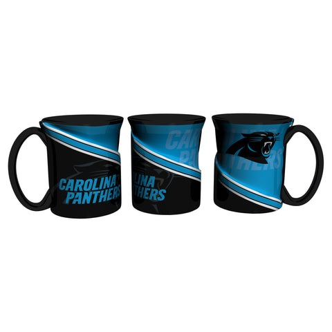 Carolina Panthers 18Oz Sculpted Ceramic Twist Mugs