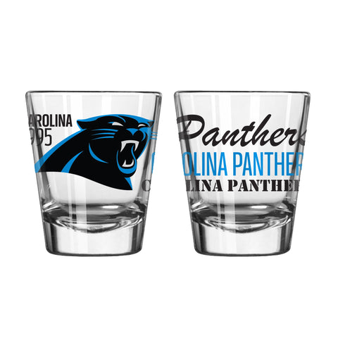 Carolina Panthers 2Oz Spirit Shot Glasses