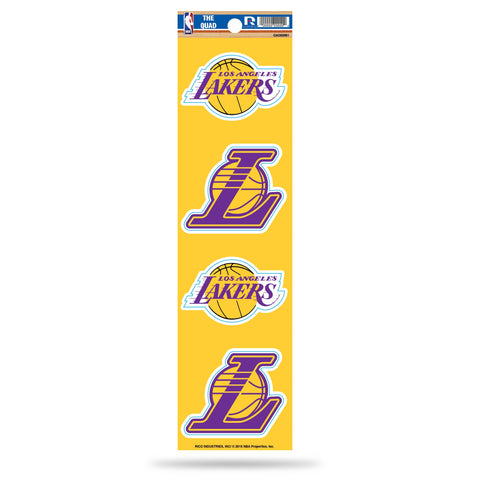 Lakers The Quad Decal