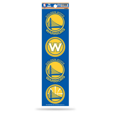 Warriors The Quad Decal