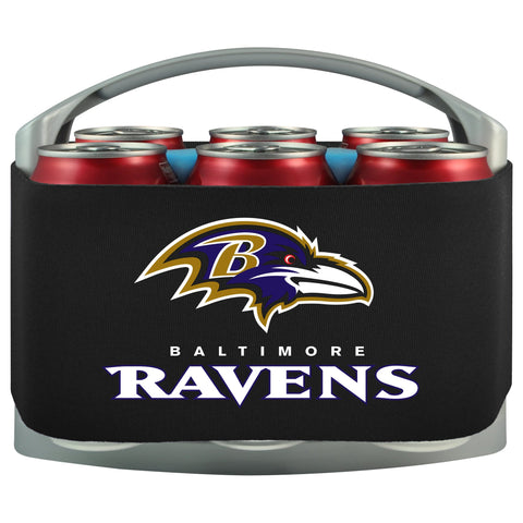 Baltimore Ravens Cooler With Neoprene Sleeve And Freezer Component