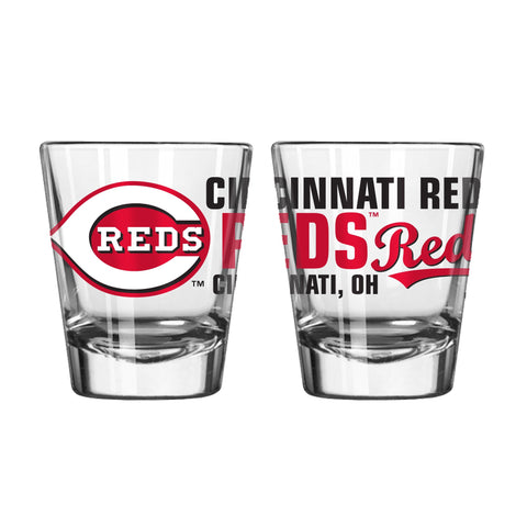 Cincinnati Reds 2Oz Spirit Shot Glasses