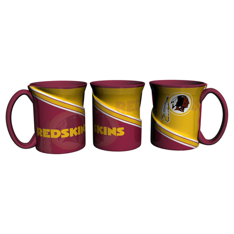 Washington Redskins 18Oz Sculpted Ceramic Twist Mugs