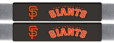 San Francisco Giants Leather Seat Belt Pads