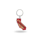 49Ers - California State Shaped Keychain