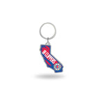 Clippers - California State Shaped Keychain