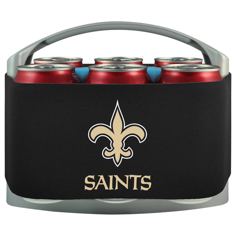 New Orleans Saints Cooler With Neoprene Sleeve And Freezer Component