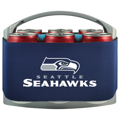 Seattle Seahawks Cooler With Neoprene Sleeve And Freezer Component