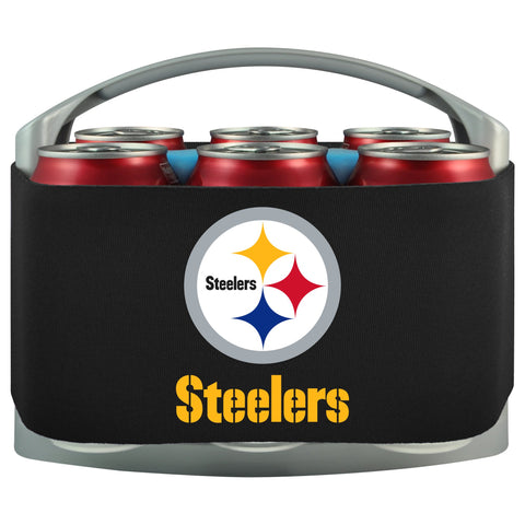 Pittsburgh Steelers Cooler With Neoprene Sleeve And Freezer Component