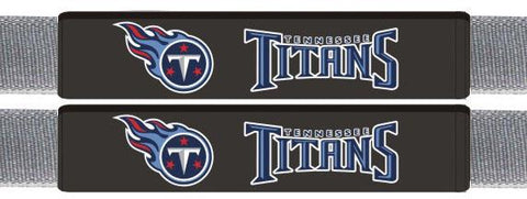 Tennessee Titans Leather Seat Belt Pads