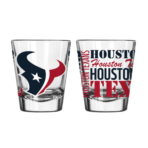 Houston Texans 2Oz Spirit Shot Glasses