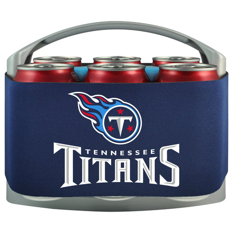 Tennessee Titans Cooler With Neoprene Sleeve And Freezer Component