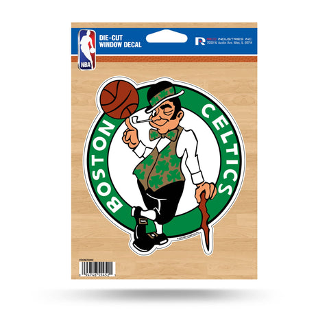 Boston Celtics Medium Die Cut Decal