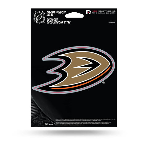 Anaheim Ducks Medium Die Cut Decal