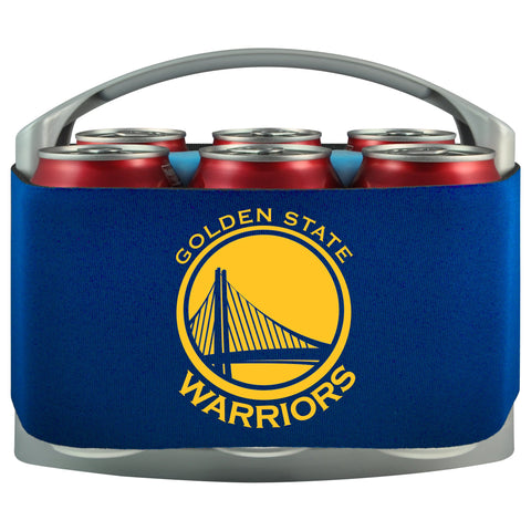 Golden State Warriors Cooler With Neoprene Sleeve And Freezer Component