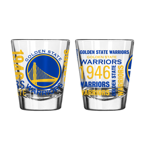 Golden State Warriors 2Oz Spirit Shot Glasses