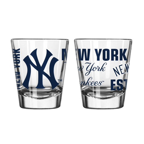 New York Yankees 2Oz Spirit Shot Glasses
