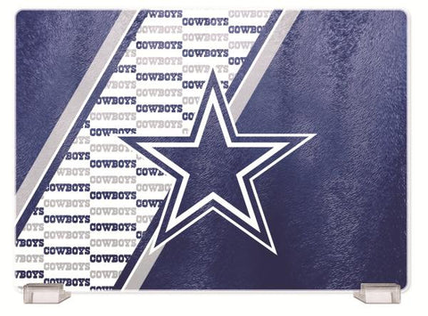 DALLAS COWBOYS TEMPERED GLASS CUTTING BOARD