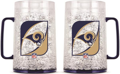 LOS ANGELES RAMS MONSTER FREEZER MUG -  38 OZ.
