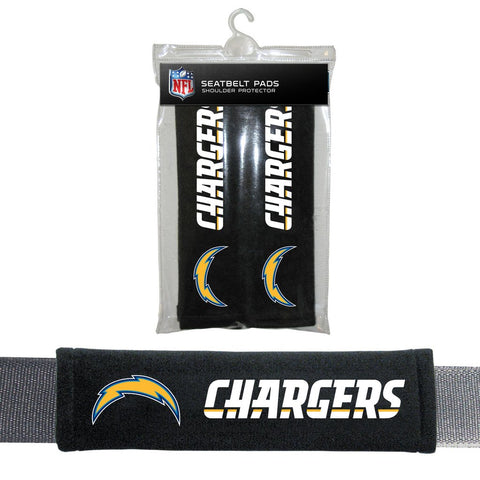 NFL Los Angeles Chargers Seat Belt Pads