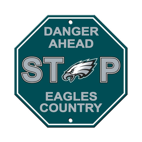 NFL Philadelphia Eagles Stop Sign